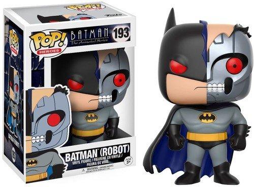 Funko 13645 DC – Sammelfiguren POP Vinylfigur: Animated Batman Robot w/Chase