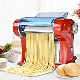 Cvbndfe Creatore di Pasta Delicata Creatore della tagliatella della Famiglia Premendo Macchina elettrica Multifunzionale a Mano Automatico di rotolamento Tagliatelle Gnocchi
