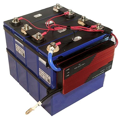 Lynx Battery 12V 120Ah Lithium Iron Phosphate (LiFePO4) Prismatic Cell with Daly BMS, Low Temp Cut Off and Bluetooth Compatible