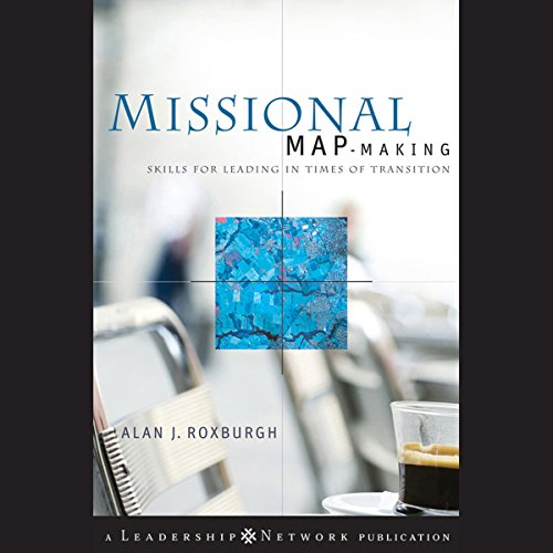 Missional Map-Making: audiobook cover art