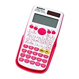 Decdeal Portable Scientific Calculator Multifunction Counting Tool with Button Battery for Student...
