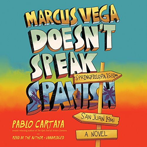 『Marcus Vega Doesn't Speak Spanish』のカバーアート