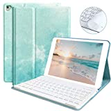 iPad Keyboard Case for iPad 9.7 2018 (6th Gen) iPad 2017 (5th Gen) iPad Pro 9.7 iPad Air 2 & 1 Detachable Bluetooth Keyboard Magnetic Auto Sleep/Wake(Beach)