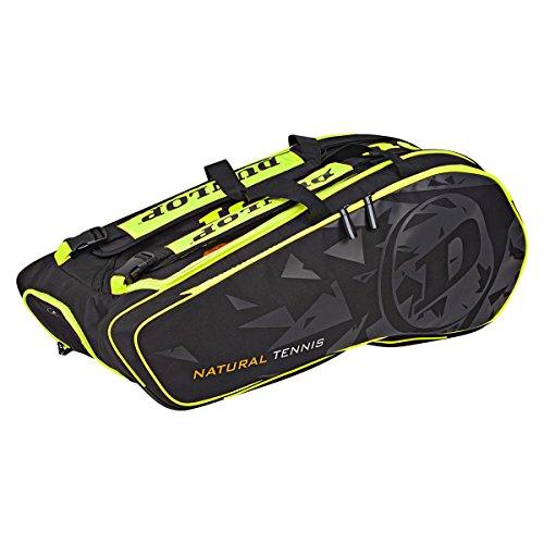 Dunlop NT 12-Racket Bag Tennistasche schwarz gelb