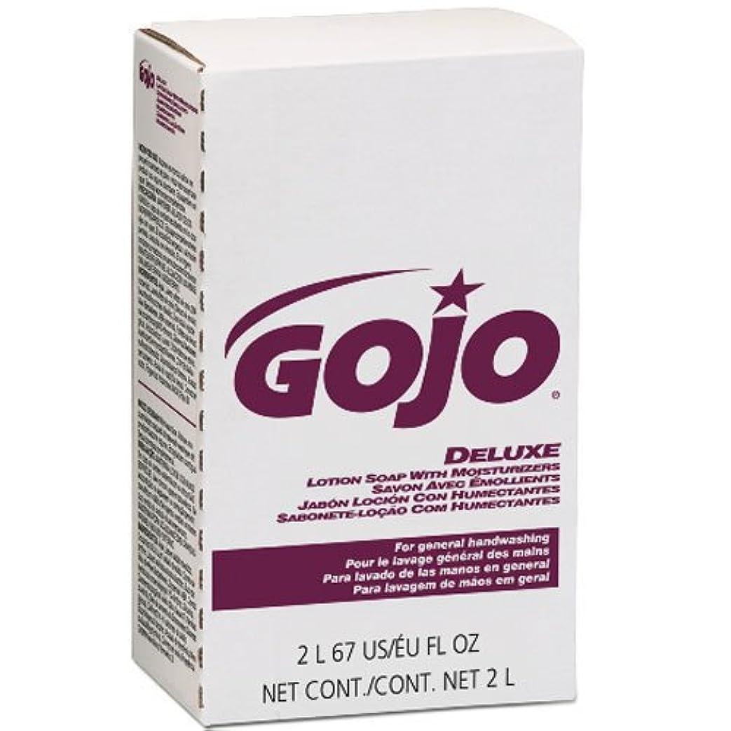 幾何学作曲家直立GOJO NXTデラックスローションSoap w /花柄保湿剤詰め替え2000?ml、4?/ケース