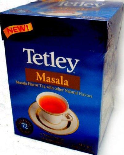 Tetley Masala Tea - NEW! (72 tea bags)