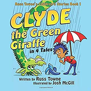 Clyde the Green Giraffe in 4 Tales cover art