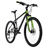 KS Cycling Mountainbike Hardtail 26'' Xtinct schwarz-grün RH 42 cm