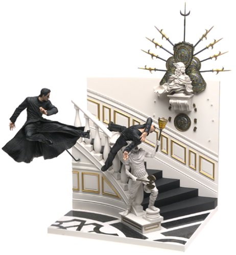 Escena McFarlane The Matrix Reloaded / Neoshatou (Jap?n importaci?n / El paquete y el manual est?n escritos en japon?s)