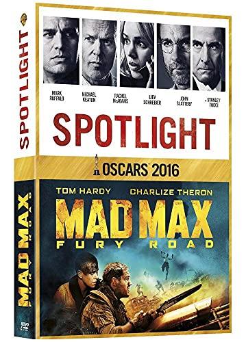 Coffret Oscars 2016: Spotlight + Mad Max Fury Road [Francia] [DVD]