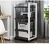 CuteLife Soporte de Impresora Rack de Almacenamiento de Archivos de Oficina de...