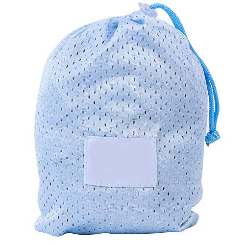 Portador de agua para bebés, tela de malla de secado rápido portátil, eslinga de agua para bebés, para viajes, tareas domésticas, compras para bebés(Light blue)
