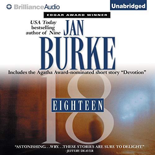 Eighteen audiobook cover art