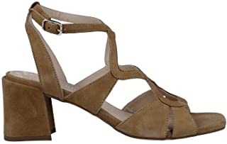 093fcac14aa Pedro Miralles 13534 Sandalias de Mujer - 39, Ante Camel