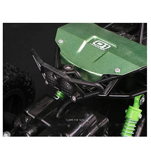 ADLIN Al aire libre Juguetes educativos, 2.4Ghz super resistentes a los choques coche teledirigido de la batería recargable, de alta velocidad con errores Monster Truck orugas, Sistema de Suspensión I