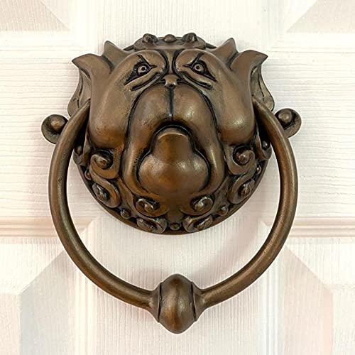Forlorn Laby-rinth, Aldabas Decorativas para Puerta, Aldaba para Puerta de Entrada, Arte de Pared, Conjunto Decorativo