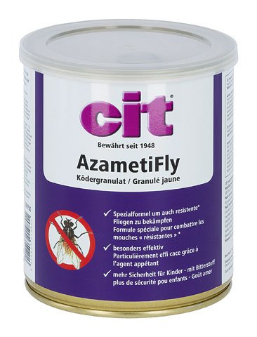 CiT azameti Fly cebo granulado 400g eficaz mosca cebo