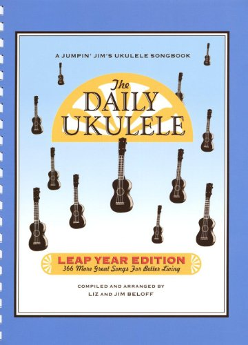 Hal Leonard The Daily Ukulele Songbook - Leap Year Edition (366 More Songs for Better Living)