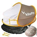 kilofly Baby Reisebett, mit 2 Schlafeinlagen und 2 Pflöcken