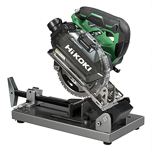 HiKOKI(ハイコーキ) 36V 150mm チップソー切断機 軟鋼材・ステンレス切断用 キックバック軽減システム搭載 蓄電池 充電器別売り 鉄工用チップソー付き CD3605DFA(NN)