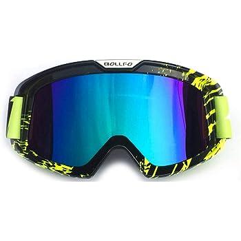 Honcenmax Motorrad Brille Mit Abnehmbarer Gesichtsmaske Harley Stil Helm Nebelfest Winddicht Reiten Sonnenbrille Auto