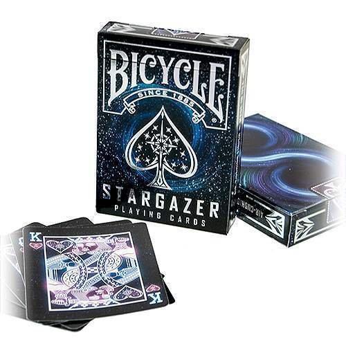 SOLOMAGIA Bicycle - Stargazer - Kartenspiel - Zaubertricks und Magie