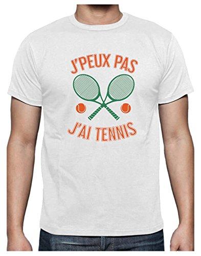 Je Peux Pas J'Ai Tennis Humour pour Joueurs passionnés...