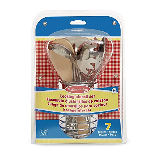 Melissa and Doug Let's Play House! Stir and Serve Cooking Utensils