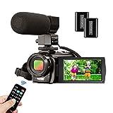 Caméscope Caméra Vidéo MELCAM 1080P 30FPS 24MP Appareil Photo Numérique...