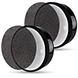Flintar 2 Packs of High Efficiency 3-in-1 True HEPA Filter Replacement, Compatible with Air Purifier LV-H132, Removes...