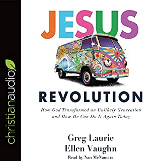 Jesus Revolution audiobook cover art