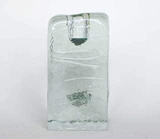 Blenko Ice Glass Candle Holder (84CM)