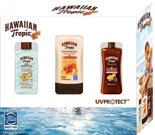 Hawaiian Tropic Travel Kit - Set de Viaje para Protección Solar (Aceite...