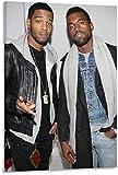 Refosian Hip-hop Rapper Kanye West Kid Cudi Poster