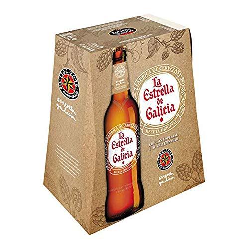 Estrella Galicia Receta Original - Paquete de 6 x 330 ml - Total: 1980 ml