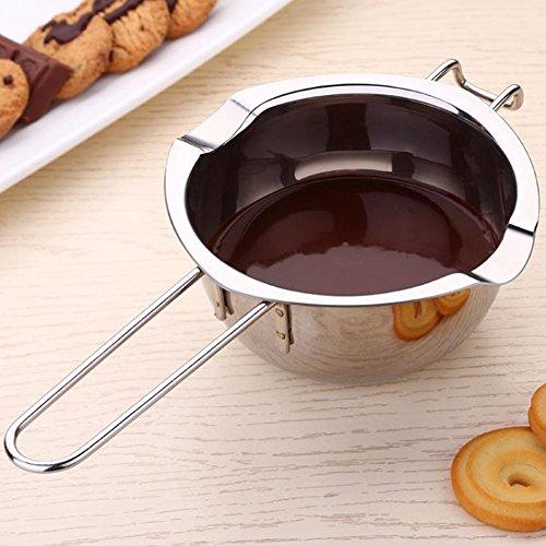 Redcolourful Edelstahl-Schokoladen-Schmelztiegel-Butter erhitzte Pan-Küchen-Backen-Werkzeug Hohe Qualität