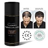 Tillmann's® Fibras Capilares Castaño Oscuro 27,5 gramos - Caida Cabello Hombre - Keratin Fibers - Disimular Calvicie  Al Instante Con Polvo de Queratina 100% Natural