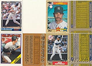 Rare Lot of Twenty (20) Different Vintage Topps Don MatTingly Error CardS from 1987-1992