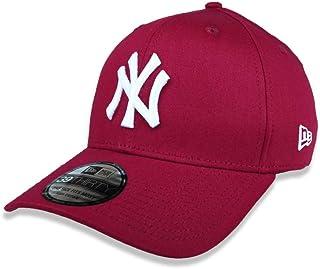 BONE 39THIRTY ABA CURVA FECHADO MLB NEW YORK YANKEES ABA CURVA VERMELHO ESCURO NEW ERA