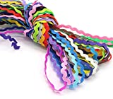 16 m Zickzackband in 16 Farben 0,90 cm Farbe Tausende Ideen