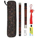 HAOX Bamboo Flute, Playing Flute Kit Sturdy and Durable Polished Exterior for Music Lovers for Beginner