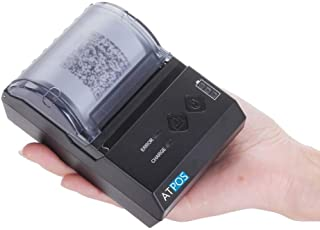 ATPOS AT-E200 Portable Thermal Wireless Bluetooth Receipt Rechargeable Printer   ESC POS Android Mobile Printing