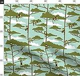 Affe, Chinesisches Neujahr, Sternzeichen, Tiere, Bäume,
