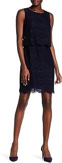 Anne Klein Women's Sleeveless Lace Popover