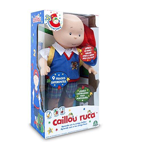 Caillou - Mi Amigo parlante, Figura articulada (Giochi Preziosi CAL06000)
