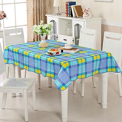 Hule Dorado sobre la Mesa, Cubierta de Escritorio Rectangular, Mantel de Ramadán, manteles Impermeables para la Mancha, para la repisa de la Cocina, patrón Impermeable