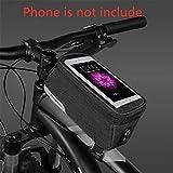 ROSWHEEL自転車サイクリングスマートフォン用防水タッチスクリーンフレーム収納バッグ