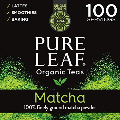 (32% OFF Deal) 100% Organic Matcha Green Tea Powder – 100 servings $15.96