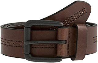 Dents Mens Casual Leather Belt - Tan