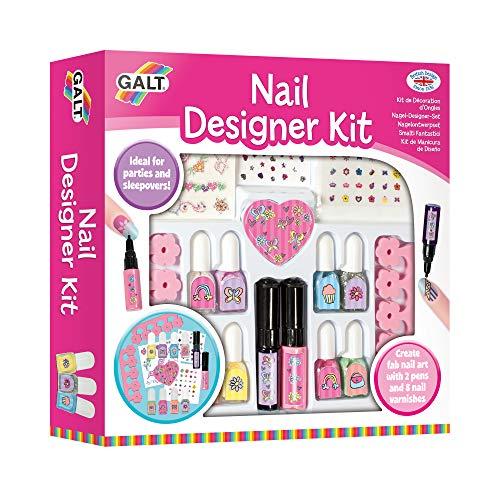 Galt Toys, Nail Designer Kit, Kids' Craft Kits, Ages 7 Years Plus